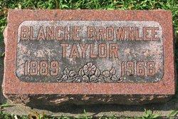 Blanche Brownlee Taylor