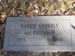 Nancy <i>Bronson</i> Anderly