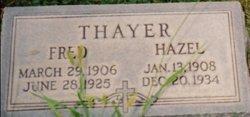 Hazel Janet <i>Thayer</i> Fish
