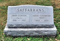 Sarah <i>Saffarrans</i> Trice