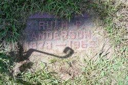Ruth <i>Peebles</i> Anderson