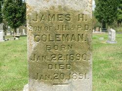 James H Coleman
