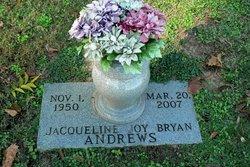 Jacqueline Joy <i>Bryan</i> Andrews