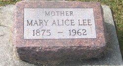 Mary Alice <i>Rutledge</i> Lee