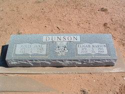 Mary Jane Molly <i>Markham</i> Dunson