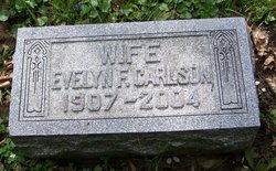 Evelyn <i>Foley</i> Carlson