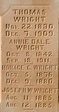 Annie <i>Dale</i> Wright