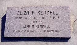 Eliza A <i>Clements</i> Kendall