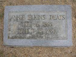Annie <i>Elkins</i> Deats