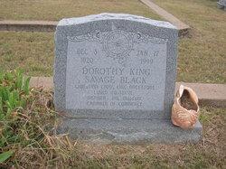 Dorothy King <i>Savage</i> Black