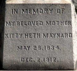 Kitty <i>Heth</i> Maynard