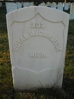 Pvt Royal M Carlisle