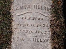 Anna <i>Stump</i> Helsel