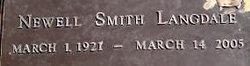 Newell Annie Mitzi <i>Smith</i> Langdale