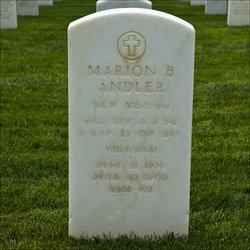 Corp Marion Bryan Andler, Jr