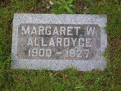 Margaret W Allardyce