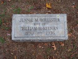 Jennie Mae <i>Hollister</i> Keenan