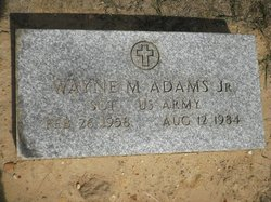 Sgt Wayne Marvin Adams, Jr
