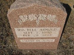 Ida Belle <i>Poteet</i> Arnold