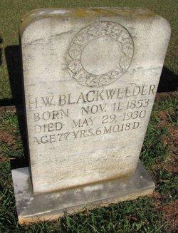 Henry Wilson Blackwelder