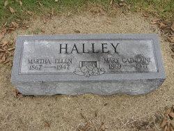 Martha Ellen Mattie Halley