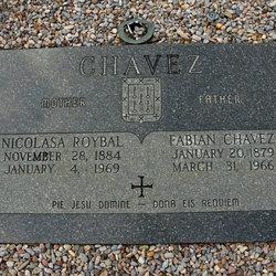 Nicolasa <i>Roybal</i> Chavez