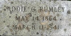 Mrs Addie G Rumley