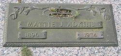 Mattie J. Adkins