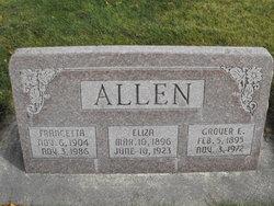 Eliza Ann <i>Stoddard</i> Allen
