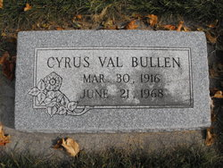 Cyrus Val Bullen