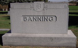 Eliza A <i>Wilson</i> Banning