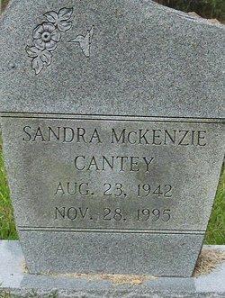 Sandra <i>McKenzie</i> Cantey