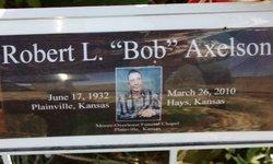 Robert L Bob Axelson