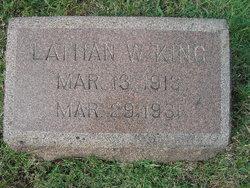 Lathan William King