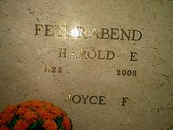 Mrs Joyce <i>Moree</i> Feyerabend