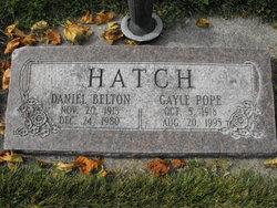 Daniel Belton Hatch