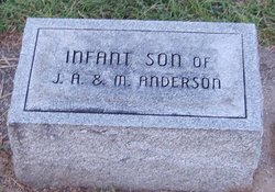 Infant Son Anderson
