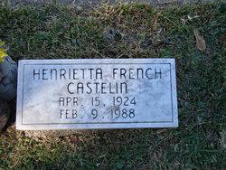 Henrietta <i>French</i> Castelin
