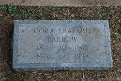 Cora <i>Shapard</i> Barrow