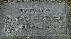 Duane (Duey) Curtis Johnson