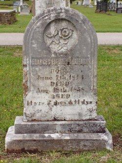 Frances Elizabeth Freeman