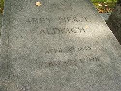 Abby Pierce Truman <i>Chapman</i> Aldrich