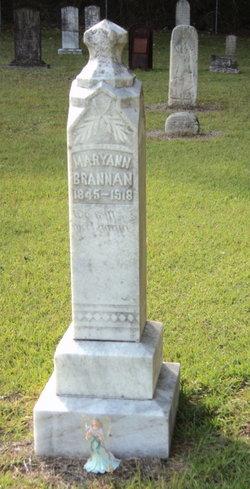 Mary Ann <i>Curl</i> Brannan
