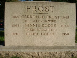 Carroll DeWilton Frost