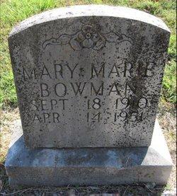 Mary Marie Bowman