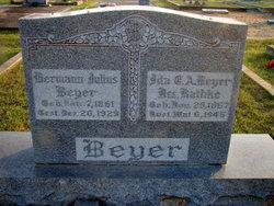 Ida Erendine Alwine <i>Rathke</i> Beyer