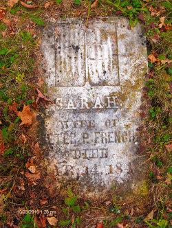 Sarah <i>Sterne</i> French