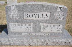 Georgiana <i>Ruhl</i> Boyles
