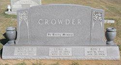 Roy E. Crowder