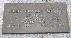 Allen Dunlap Barker